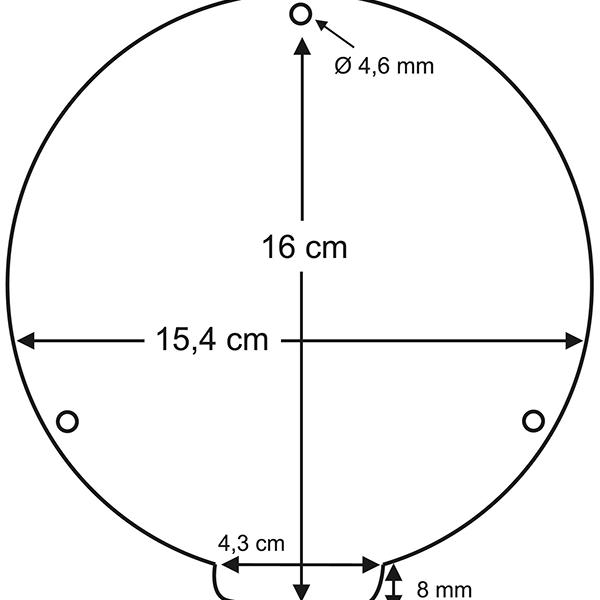 Reckhorn BS-200i dimensions